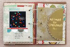 December journal...click to see more great pages!