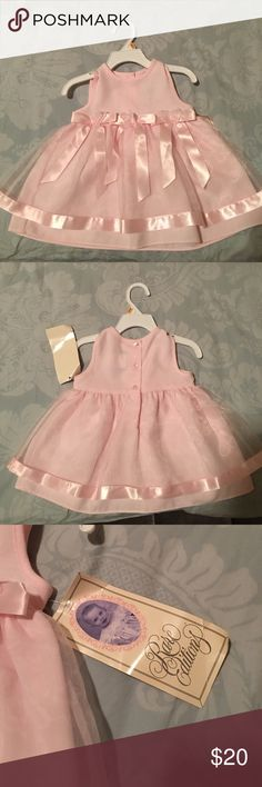 Baby girl dresses Brand new Pink one piece dresses Dresses Casual