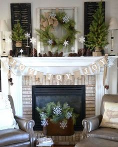 picture-of-organic-decorated-mantel-with-pinecones-evergreens-and-burlap-is-ideal-if-you-want-something-rustic