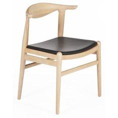 Stilnovo FEC7527BLK Elbow Chair in Black