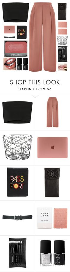 """""""SO HOLD ON DARLING WE NEED TO HOLD IT DOWN"""" by c-ityscape ❤ liked on Polyvore featuring Calvin Klein Collection, Topshop, Bloomingville, Lizzie Fortunato, Chanel, M&Co, Herbivore, e.l.f. and NARS Cosmetics"""