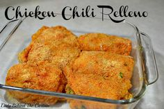 Chicken Chili Relleno - Lady Behind the Curtain