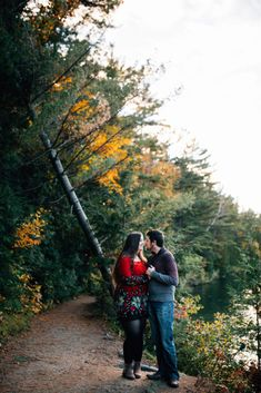 This Beautiful, Fall Engagement Session Took Place In The Winding Trails of Pink Lake, QC. As An Ottawa Photographer, This Has To Be One Of My Favourite Places For An Autumn Engagement Session. Romantic Photography, Engagement Photography, Wedding Photography, Fall Engagement, Engagement Session, Engagement Photos, Ottawa Valley, Pink Lake, Vancouver Island