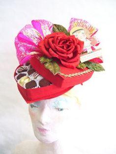 a John Koch Candy box hat