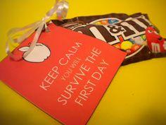 Classroom Freebies: Keep Calm {A Staff Gift Idea}