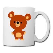 bear mug - Google Search