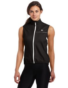 Women's Cycling Vests - Pearl Izumi Womens Elite Barriers Vest Black XSmall *** You can get additional details at the image link.