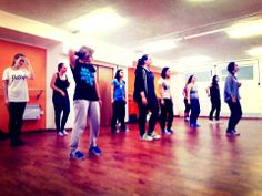 Hip hop class with Margot (FRA)