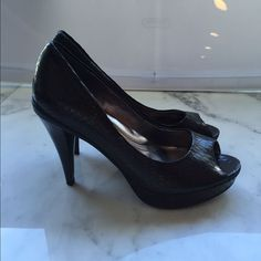 Kenneth Cole Reaction Open Toe Heels
