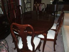 Formal Dining Room Set Table China Cabinet 8 Chairs Custom Thomasville Dining Room Chairs 2018