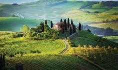 Tuscany Tourist Info:holiday in Tuscany, Toscana, Italy Siena Toscana, Wonderful Places, Beautiful Places, Places To Travel, Places To Visit, Magic Places, Tuscany Landscape, Landscape Art, Under The Tuscan Sun
