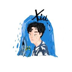 Exo Stickers, Kpop Fanart, Youngjae, Cute Drawings, Fan Art, Oil, Anime, Painting, Fictional Characters