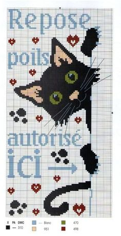 Cross-stitch Peek-a-Boo Kitty...    Gallery.ru / Photos # 2 - 26 - Elgy