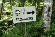 Cheese farm, xonrupt longemer, France