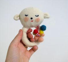 sweet little baby rattle