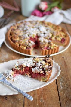 Himbeer Crumble Tarte - Raspberry Crumble Tart (2)