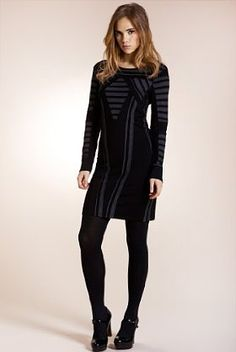 Limited Collection Long Sleeve Fitted Dress