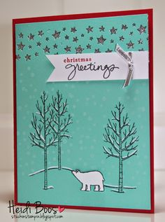 Stuck on Stampin': ssink - friday favorites (white christmas)