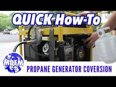 CONVERT YOUR GENERATOR TO PROPANE - (QUICK HOW-TO VERSION) - YouTube