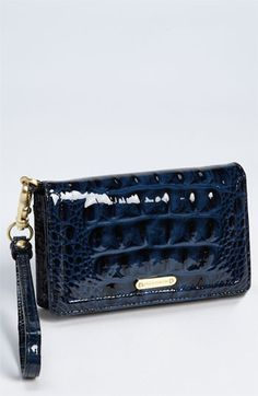 Brahmin 'Debi' Patent Leather Wristlet | Nordstrom Brahmin Handbags, Brahmin Bags, Black Patent Leather, Clutch Bag, Fashion Bags, Bag Accessories, Nordstrom, Purses, My Favorite Things