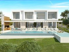 Modern frontline villa under construction in Puig den Ros Engel & Völkers Property Details | W-023BAV - ( Spain, Mallorca, Mallorca South / Llucmajor, Puig d'en Ros )