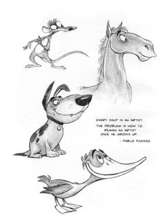 Cartoon Drawings Of Animals, Animal Sketches, Cartoon Art, Character Design Animation, Character Art, Comic Book Drawing, American Cartoons, Animation Sketches, Nature Sketch