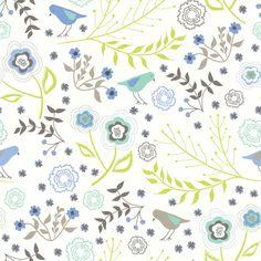 Fat Quarter 100/% Cotton Patchwork Fabric Lime /& blue Medallion Dashwood