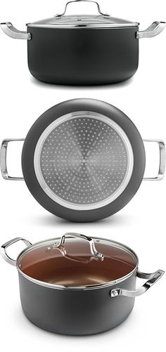 Ceramic & Titanium Non-Stick Saucepan - 10 inch Dishwasher & Oven Safe Non-Scratch Cookware with Induction Plate - By CM Saucepans, Griddle Pan, Cookware, Dishwasher, Oven, Plates, Ceramics, Diy Kitchen Appliances, Licence Plates