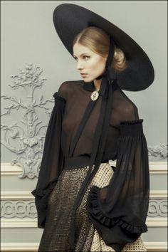 Ulyana Sergeenko Couture Spring-Summer 2013 / #fashion #photography