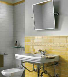 Ceramiche Grazia tile composition - #bathroom #tile #design #concept #italian #style #elegance #colour