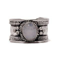 Hey, I found this really awesome Etsy listing at https://www.etsy.com/listing/200930988/tibetan-moonstone-ring-boho-silver