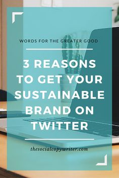 Twitter marketing for sustainable brands