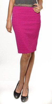 #sashayboutiqueonline.com #Skirt                    #Peony #Shimmer #Pencil #Skirt                      Peony Shimmer Pencil Skirt                                                    http://www.seapai.com/product.aspx?PID=1248468
