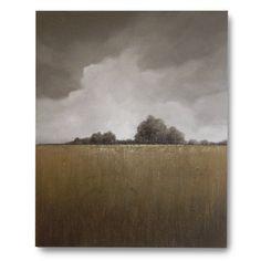 Original Art large landscape painting 24 X 30 Keep by FoxStudios