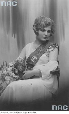 Wanda Maślińska - Miss Radomia 1932