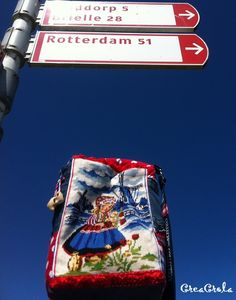CreaCrola-tasjes, I was here: Brouwersdam!
