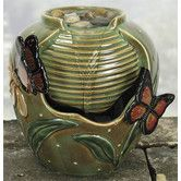 Found it at Wayfair - Porcelain Butterfly Beauty Water Fountain