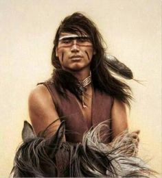 Percy Whiteplume by Carrie L Ballantyne Giclee Print ~ 24 x Native American Beauty, American Spirit, American Indian Art, Native American History, American Pride, Native American Indians, Plains Indians, American Quotes, American Symbols