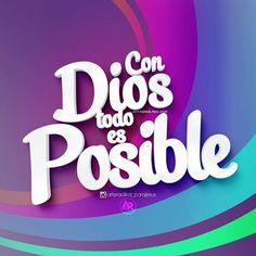 Evangelio según San Lucas 1:37 Para Dios no hay nada imposible