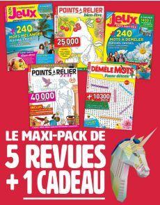 Le PACK Multi-Jeux : 5 revues + 1 CADEAU Autumn Theme, Entertaining, Gift, Gaming
