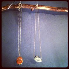 Stone Necklace by kerijennings on Etsy, $18.00