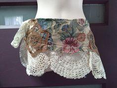 GIRLS CROCHET BELT pixie gypsy raggy belt cream by SwirlnTwirlKids Crochet Belt, Boho Girl, Crochet Doilies, Lace Shorts, Pixie, Gypsy, Cream, Sewing, Girls