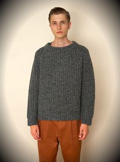 Hipster Fashion Wooly Jumper