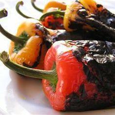 Geröstete Gemüsepaprika