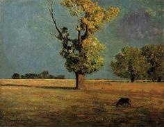 Odilon Redon Peyrelebade Landscape 1868