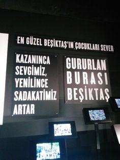 Kazanınca sevgimiz, yenilince sadakatimiz artar. ♥ #gururlan #Beşiktaş #BeşiktaşMüzesi