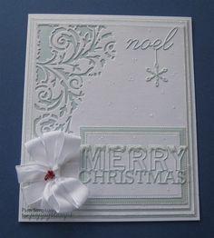 Snowy Merry Christmas. | docrafts.com