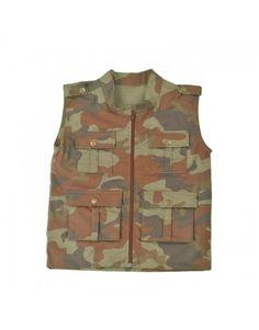 Na Use Militar Você Encontra Coletes Camuflado Para Seu Filho.Confira!!