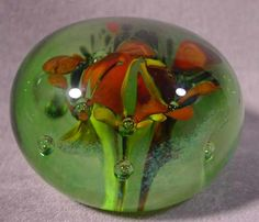 1991 Labino Abstract Paperweight