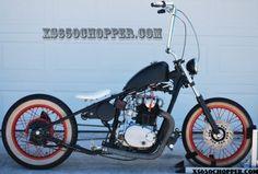 The cult of XS650 choppers | Helmet Hair - Motorcycle Blog